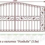 ворота дачные спб, дачные ворота распашные, ворота распашные дачные, дачные ворота спб