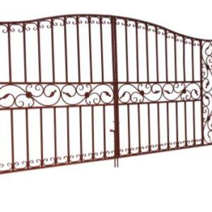 дачные распашные ворота, ворота дачные распашные, дачные ворота фото, купить ворота дачные