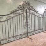заказать ворота на дачу, металлические ворота для дачи, ворота на дачу заказать, ворота для дачи металлические