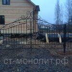 ворота распашные для дачи, ворота на даче, ворота для дачи распашные, распашные ворота для дачи