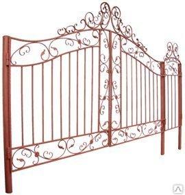 установка ворот на даче, ворота на дачу фото, ворота металлические для дачи, ворота распашные на дачу