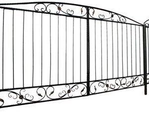 ворота дачные с калиткой купить